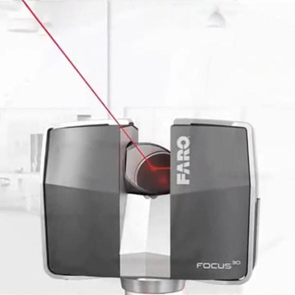 Arsalis maîtrise d'œuvre relevés 3D Faro