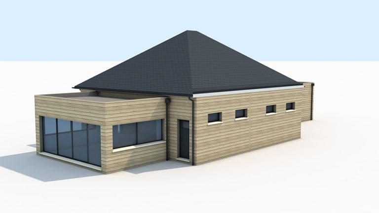 conception maison en bois
